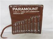 PARAMOUNT TOOLS 11 PIECE WRENCH SET, 7 TO 19 MM HANDLE
